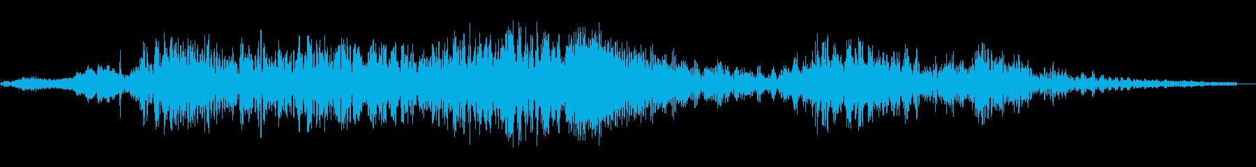 進化する巨大な液体機械の変化する形...の再生済みの波形