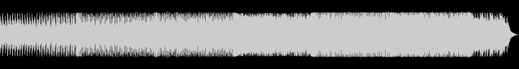 bpm121の地味で静かなテクノの未再生の波形