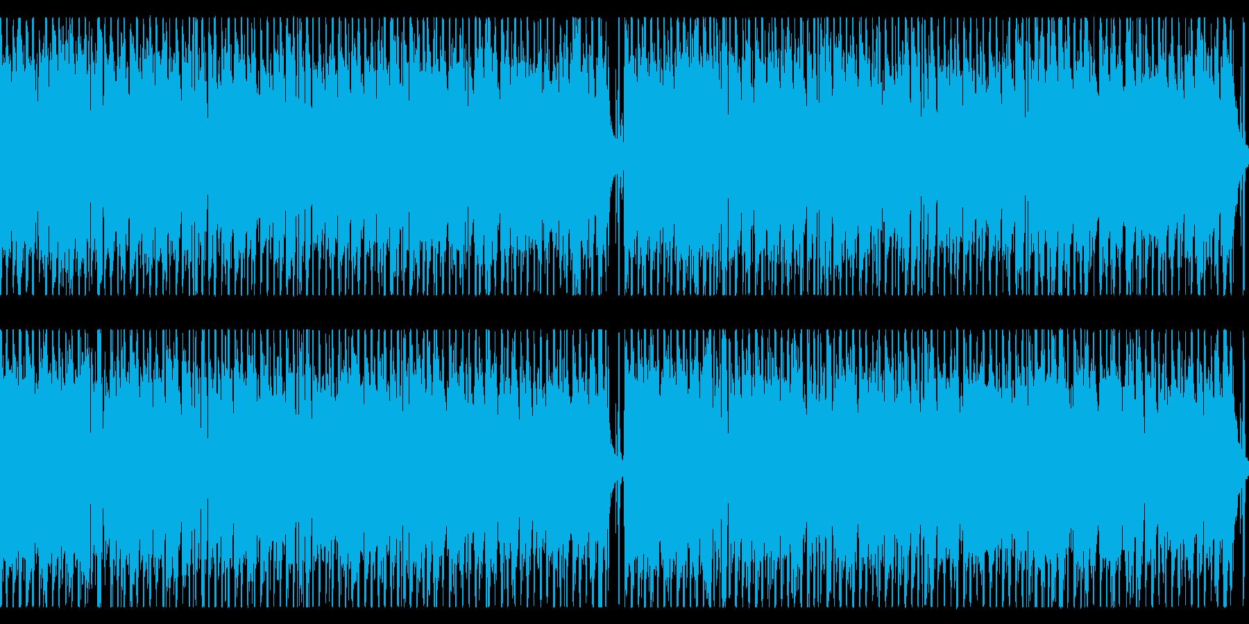明るく楽しげなかわいいカントリーポップの再生済みの波形