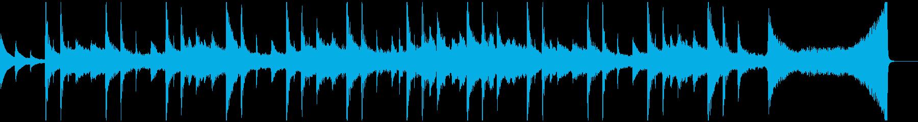 ピアノ・幻想的・風・ノスタルジック Bの再生済みの波形