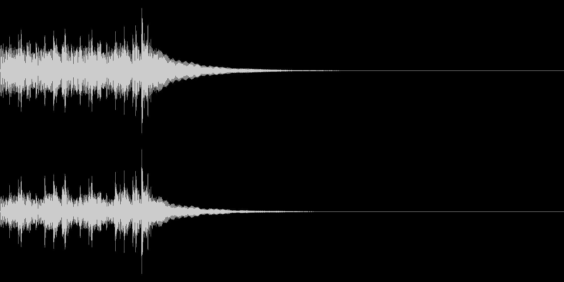 コンガ ボンゴ リフ5 キューバ 高速の未再生の波形