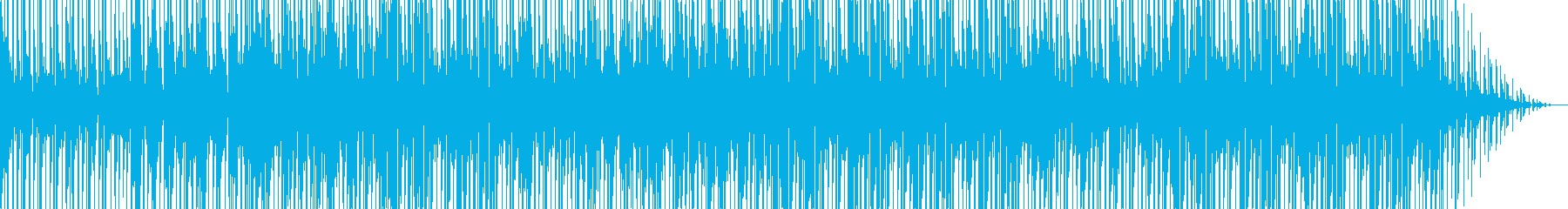 軽快なポップと少しヒップホップのミ...の再生済みの波形