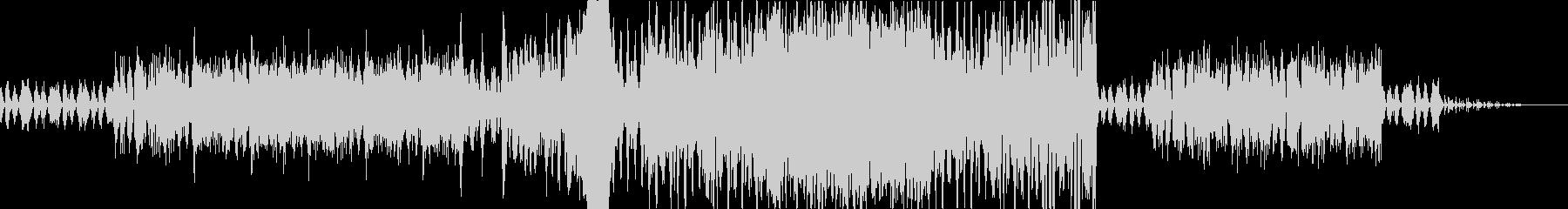 管弦楽によるダーク系BGMの未再生の波形