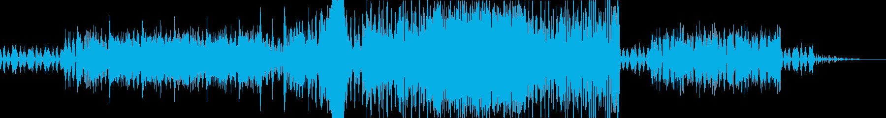 管弦楽によるダーク系BGMの再生済みの波形