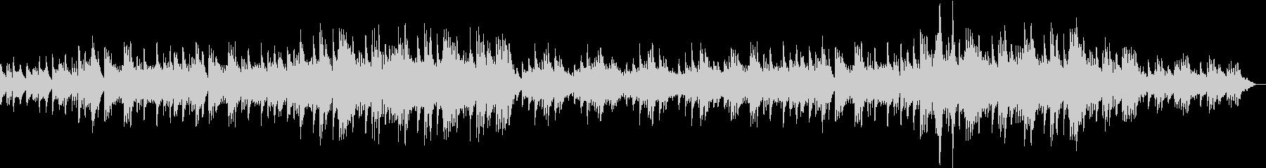 ピアノソロの壮大なバラード6/8拍子の未再生の波形