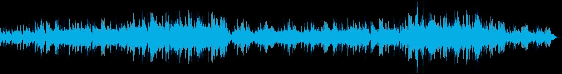 ピアノソロの壮大なバラード6/8拍子の再生済みの波形