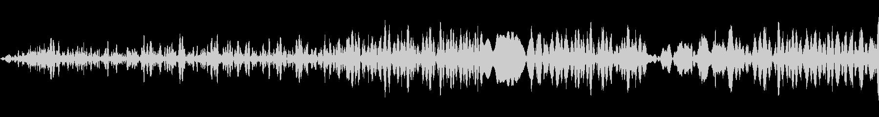 生産アクセントV.7ビープ音、プロ...の未再生の波形