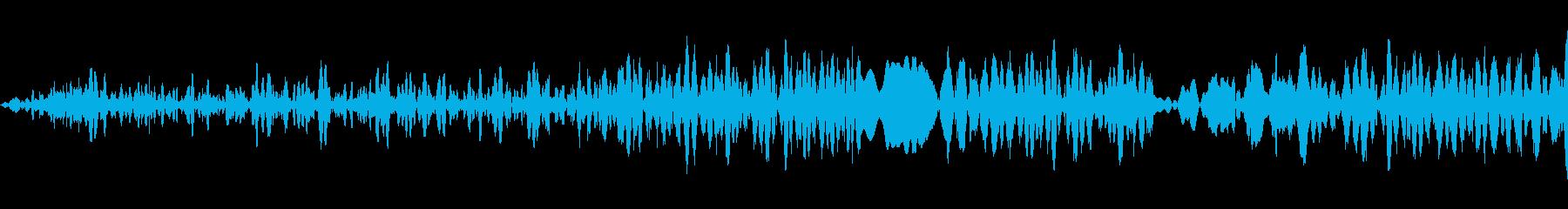 生産アクセントV.7ビープ音、プロ...の再生済みの波形