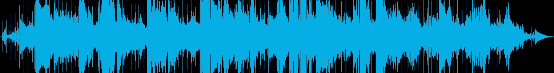 ジャズとファンク。ソロの深夜のトラ...の再生済みの波形