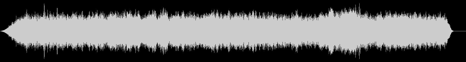 軽自動車のアイドリング音 (車内の音)の未再生の波形