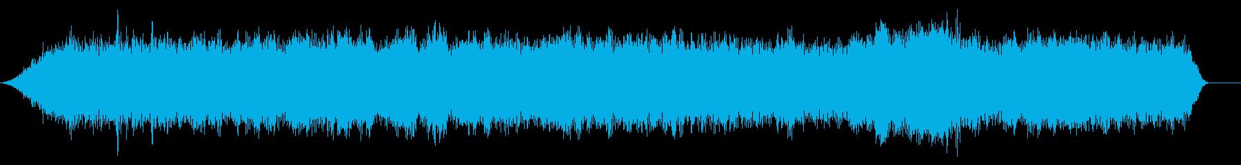 軽自動車のアイドリング音 (車内の音)の再生済みの波形