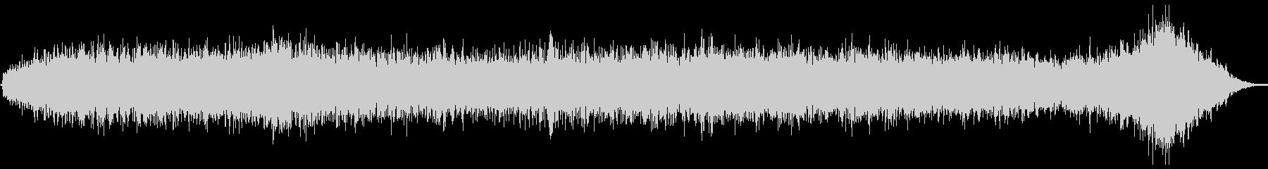 ヒューシュフランジエアーピッチの未再生の波形