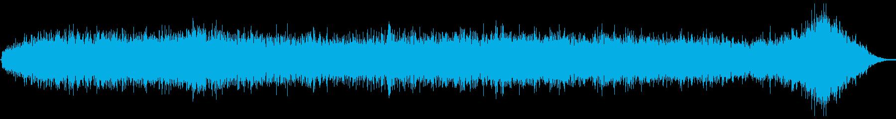ヒューシュフランジエアーピッチの再生済みの波形