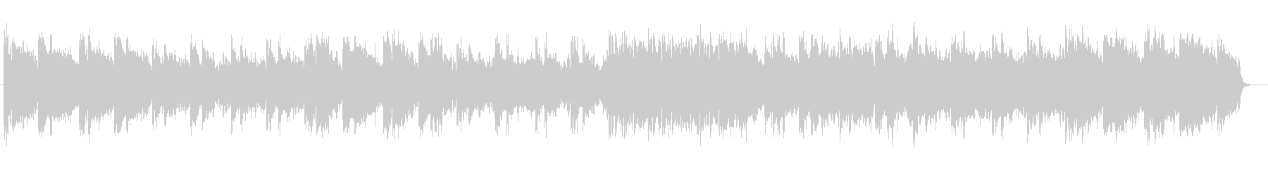 Cheerful relaxation music's unreproduced waveform