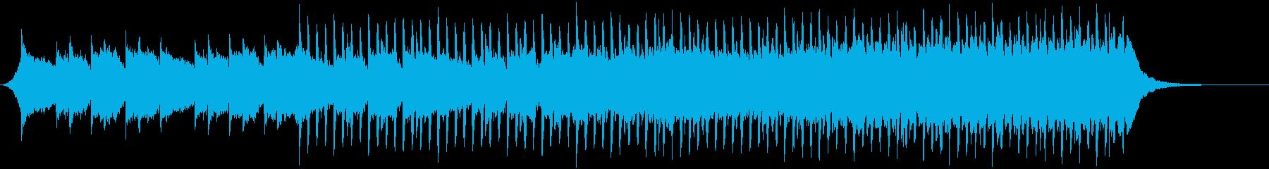 企業VP140、爽快、4つ打ち、ピアノbの再生済みの波形