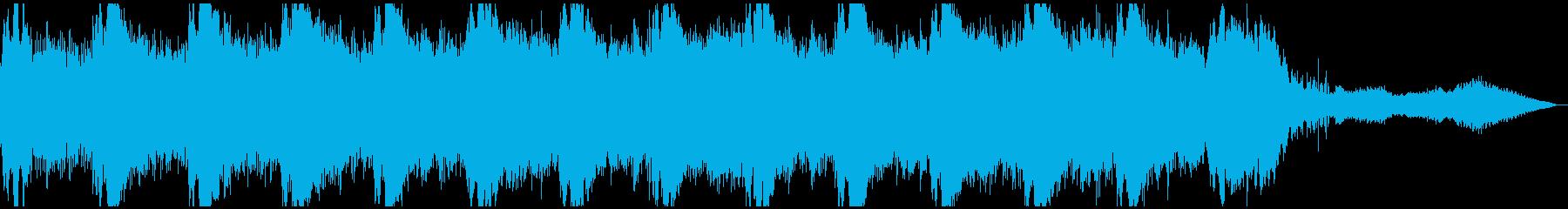 わくわくを感じるミステリアスなBGMの再生済みの波形