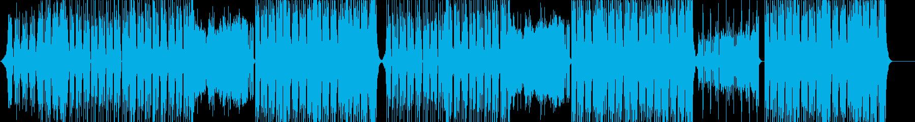 元気なポップEDM♬の再生済みの波形