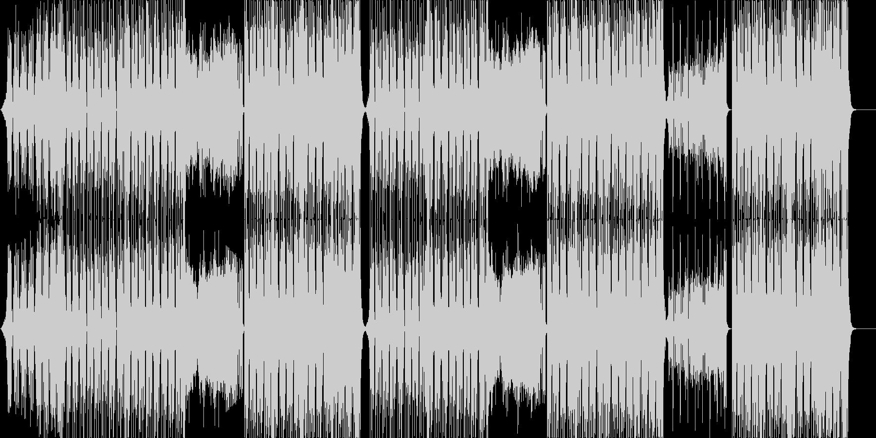 元気なポップEDM♬の未再生の波形