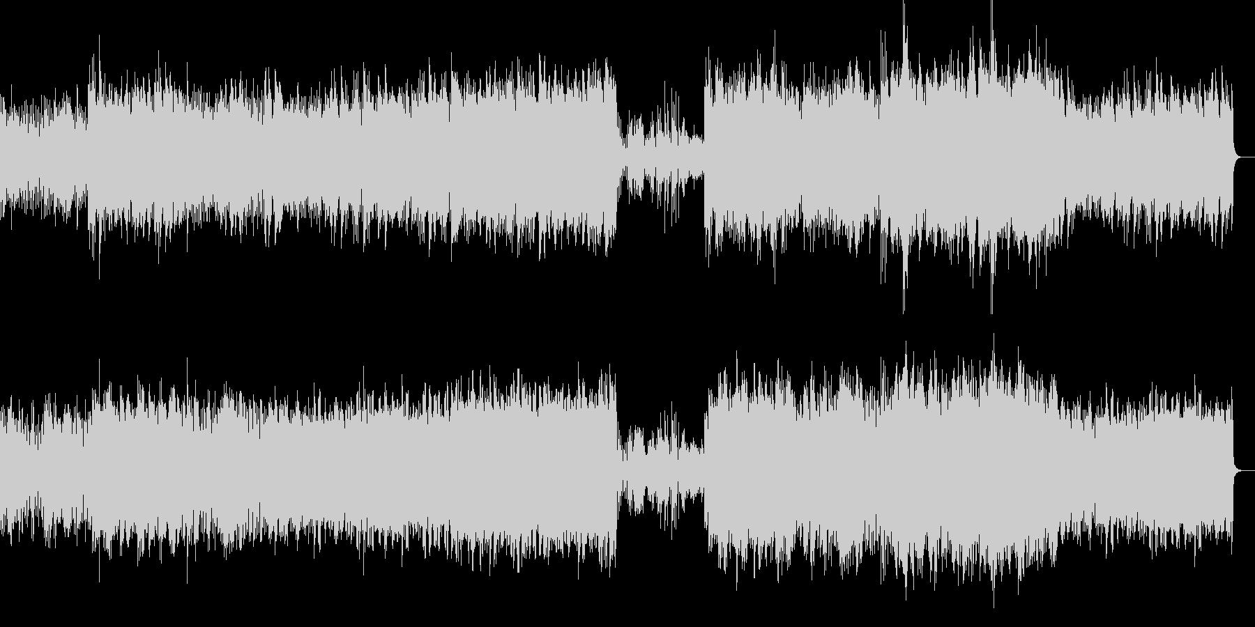 渓流のせせらぎをイメージしたピアノ曲ですの未再生の波形