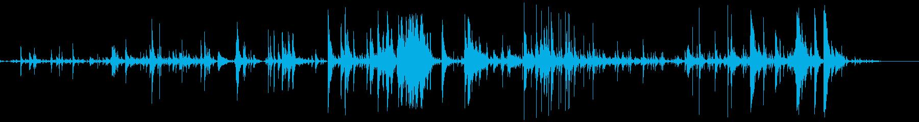 スモールメタルデブリスピルメタルイ...の再生済みの波形
