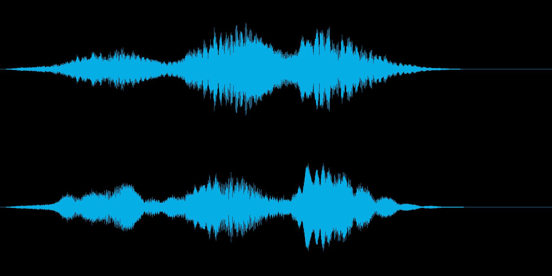 ベッド銀河フィードバックの再生済みの波形