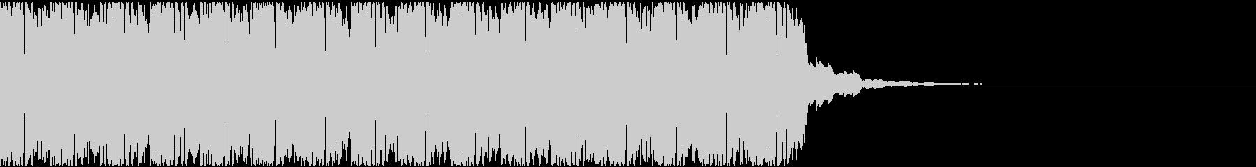【アンビエント】ロング1、ミディアム3の未再生の波形