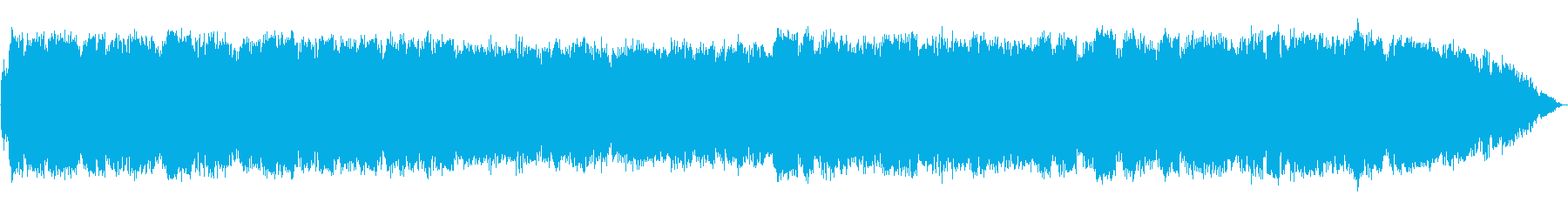 Calming whistle healing music's reproduced waveform