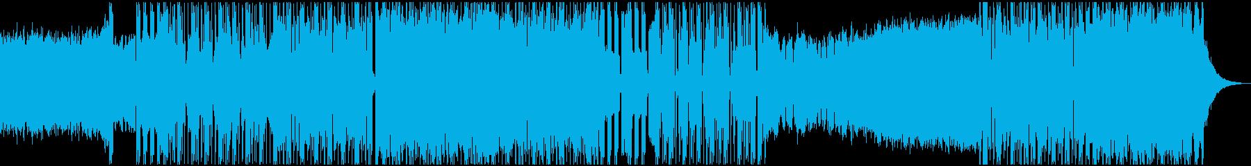 ポップ テクノ ブレイクビーツ ア...の再生済みの波形