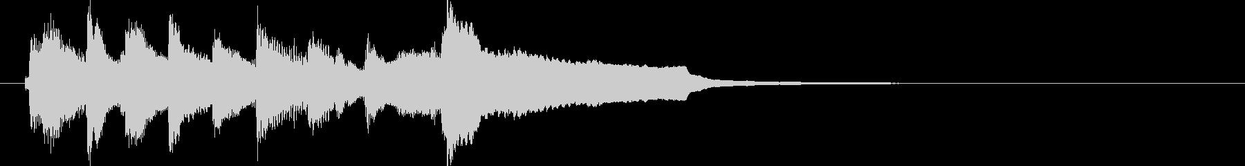 和風ジングル雅2 琴2 7_14の未再生の波形