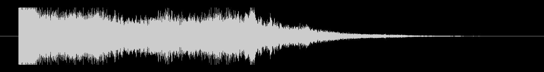 当たりの音(パチンコ、遊技場)_3の未再生の波形