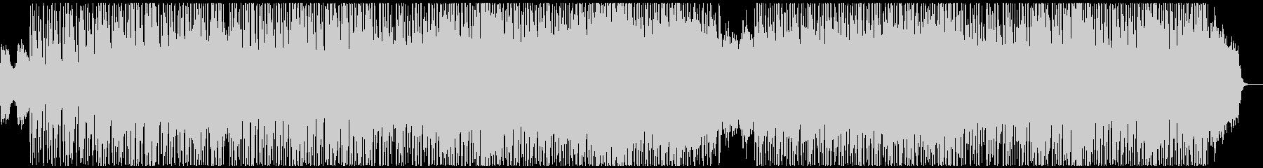 秘めた決意が漂うDnB風味のテクノの未再生の波形