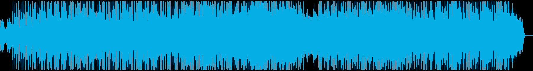 秘めた決意が漂うDnB風味のテクノの再生済みの波形