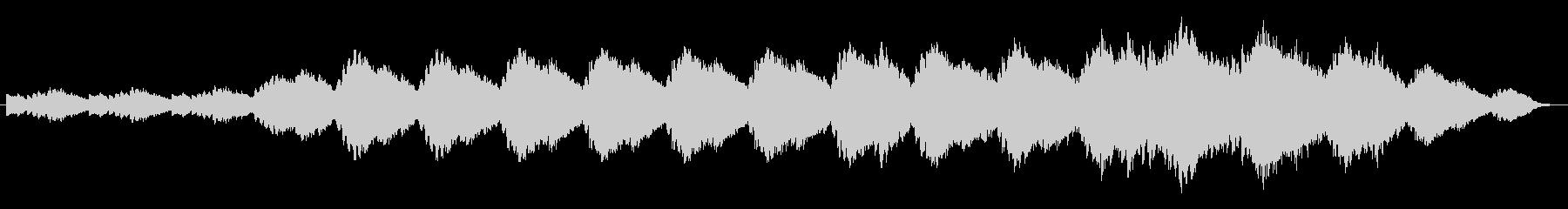 ギターループのアンビエント曲の未再生の波形