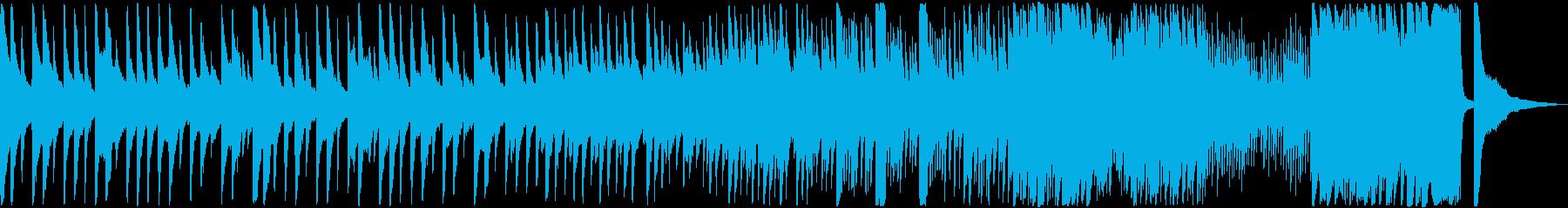 重々しいピアノソロの曲です。の再生済みの波形