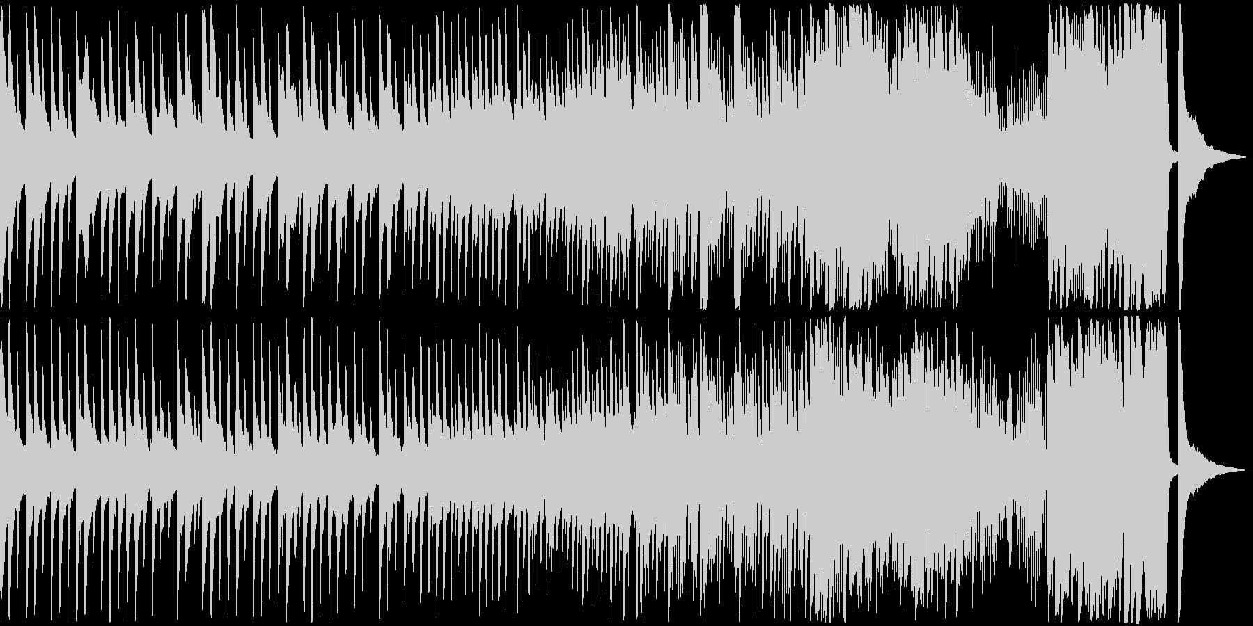 重々しいピアノソロの曲です。の未再生の波形
