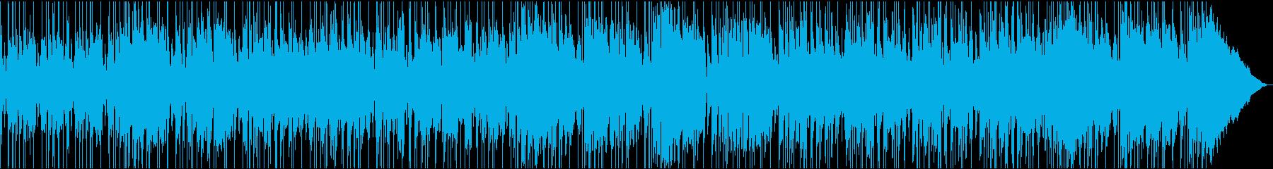アグレッシブなレゲエロックの再生済みの波形