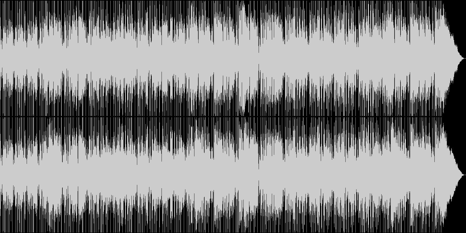 アグレッシブなレゲエロックの未再生の波形