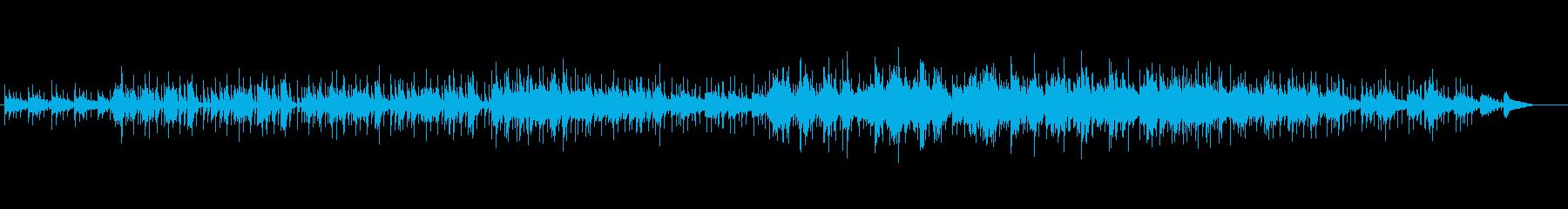 華やかな感じの軽快なピアノ・ナンバーの再生済みの波形
