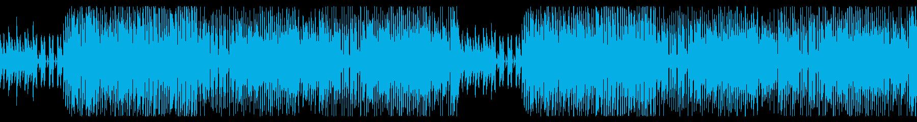 可愛くて楽しげなゲーム音楽の再生済みの波形
