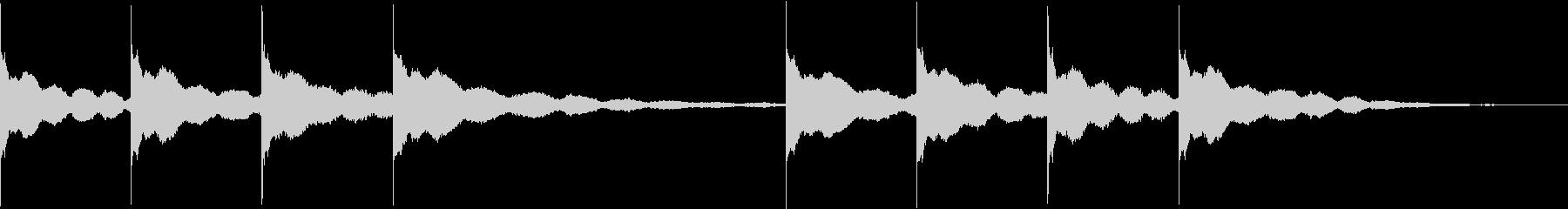 学校のチャイム(キンコンカンコン)の未再生の波形