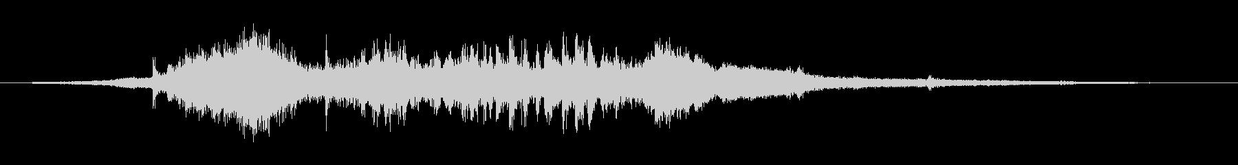 【環境音】SLの通過音(秩父鉄道)の未再生の波形