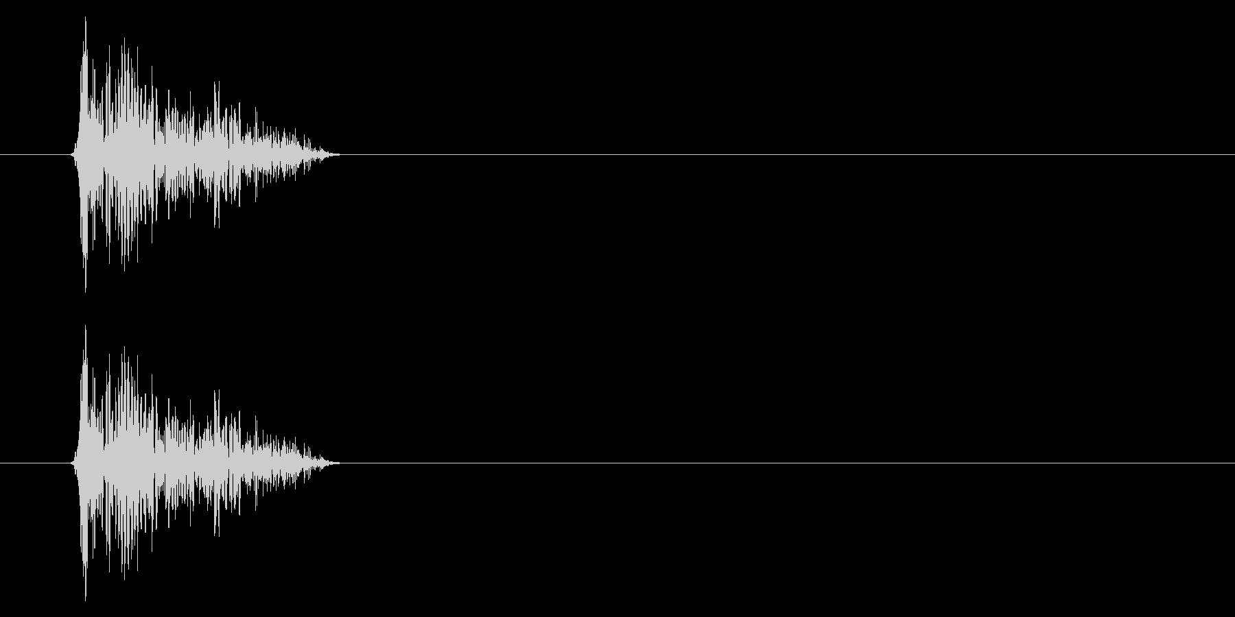 SNES-アクション01-08(衝撃)の未再生の波形