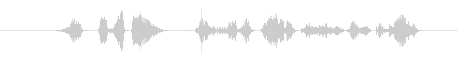 グッドボタンチャンネル登録もよろしくなの未再生の波形