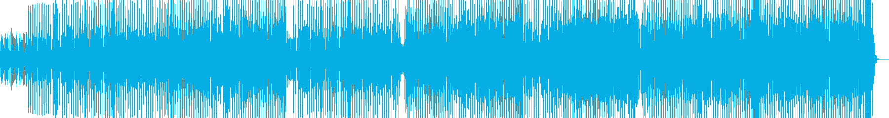 都会的なテクノ エレキギター無・長尺の再生済みの波形