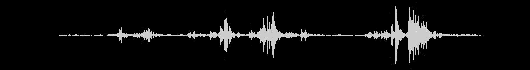 クラシック ボタン14の未再生の波形