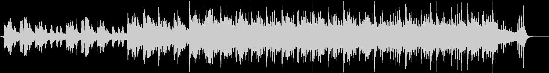 StringsとHerpの幻想的なBGMの未再生の波形