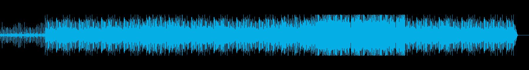 クールなHiphopサウンドの再生済みの波形