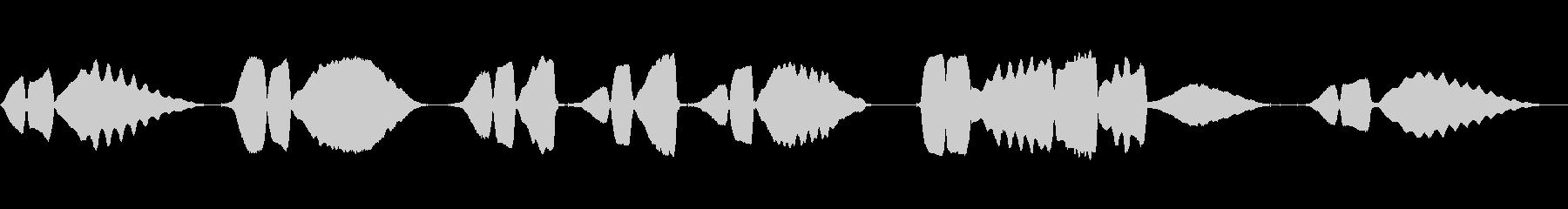 ハーモニカ:ラストポスト、ローレジ...の未再生の波形