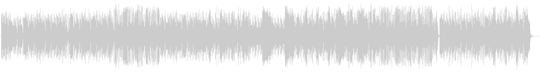 ポップでメルヘンなピアノポップスの未再生の波形