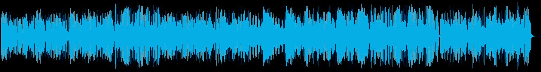 ポップでメルヘンなピアノポップスの再生済みの波形